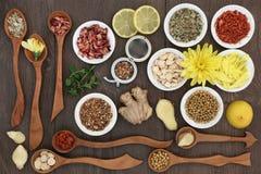 Lecznicze Zielarskie herbaty Fotografia Stock