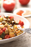 Leczo - dish with peppers and zucchini Royalty Free Stock Image