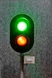 LED信号灯 免版税库存照片