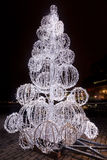 LED圣诞树 免版税图库摄影