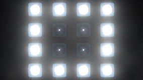 LED墙壁光(党点燃背景+20) 股票录像