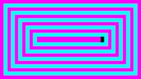 LED屏幕显示转折 皇族释放例证
