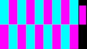 LED屏幕显示转折 向量例证