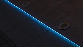 LED灯光管制线 免版税库存照片