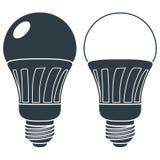 LED电灯泡象 库存照片