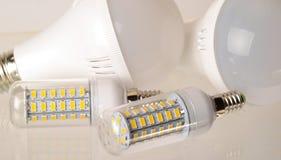 LED电灯泡 免版税库存图片