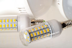 LED电灯泡 免版税库存照片