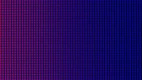 从LED电视或显示器屏幕显示的特写镜头LED二极管 图库摄影