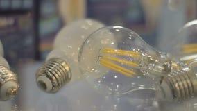 LED细丝电灯泡E27 影视素材