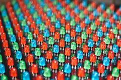 LED背景 免版税库存照片