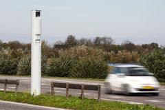 LED速度照相机 免版税库存图片