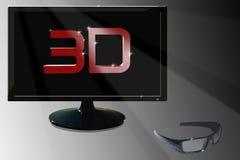 LED 3D Royalty Free Stock Photos