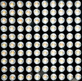100 LED Fotografia Stock
