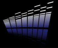 LED analyzer. On reflective surface Stock Photography
