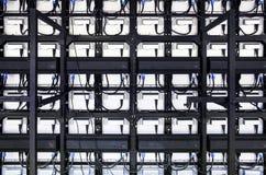 LED-Anzeigen-Modul (hinter) Lizenzfreies Stockfoto