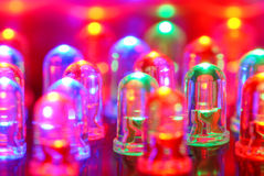 LED background Stock Photo