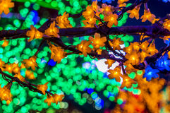 LED-Baum Stockfotos