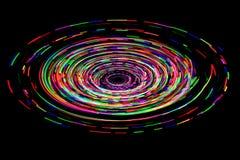 LED beleuchtet Hinterrausch Stockbild