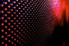 LED-Bildschirmanzeige Stockbilder