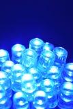 LED blu Fotografie Stock