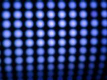 Led blue lights Royalty Free Stock Photo