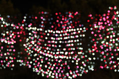 LED Bokeh for pattern. Background royalty free stock photography