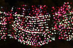 LED Bokeh for pattern. Background royalty free stock image