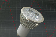 LED bulb Stock Photography