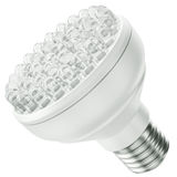 LED bulb. Energy efficient LED bulb isolated on a white background. 3D render Royalty Free Stock Photos