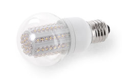 LED Bulb isolated on white background Stock Photo