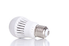 LED bulb isolated on white background Royalty Free Stock Photography