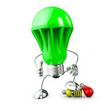 LED bulb lamp Royalty Free Stock Photography