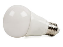 Led bulb light Stock Photo