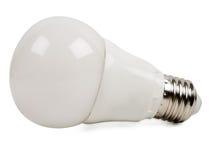 Led bulb light. Isolated on white background stock photo
