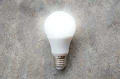 LED Bulb with lighting - Save lighting technology Stock Photo