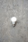 LED Bulb with lighting - Save lighting technology - Zoom out Royalty Free Stock Image