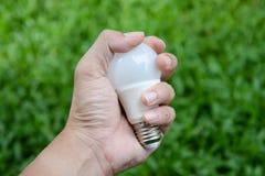 LED bulb - New technology of energy Stock Photo