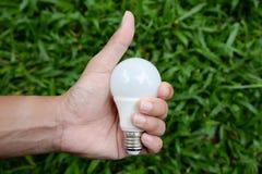 LED Bulb - Save lighting technology Royalty Free Stock Image