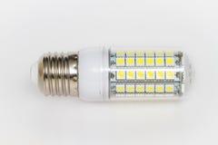 Led bulb  on white Stock Photos