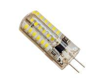 LED bulb on white background Royalty Free Stock Images