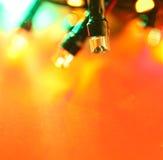 LED bulbs. Close up of blinking LED bulbs royalty free stock photo