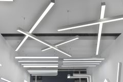 Led ceiling light  Stock Image