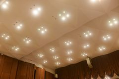 Led ceiling light royalty free stock image