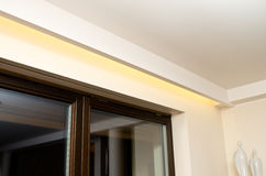 LED ceiling lighting Royalty Free Stock Image