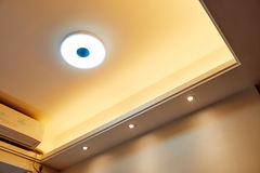 Led ceiling Royalty Free Stock Photography