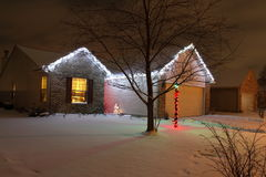 LED Christmas Lights Stock Photos