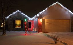 LED Christmas Lights Royalty Free Stock Images