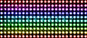 Led color Royalty Free Stock Photos
