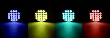 LED colors Royalty Free Stock Photography