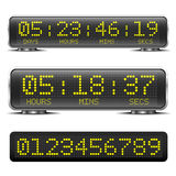 LED countdown timer Royalty Free Stock Photo